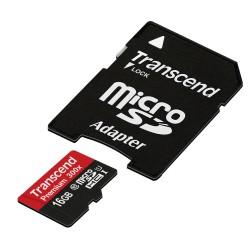 MOD MICRO SD 16GB CL10 HC C/ADAP TRANSC