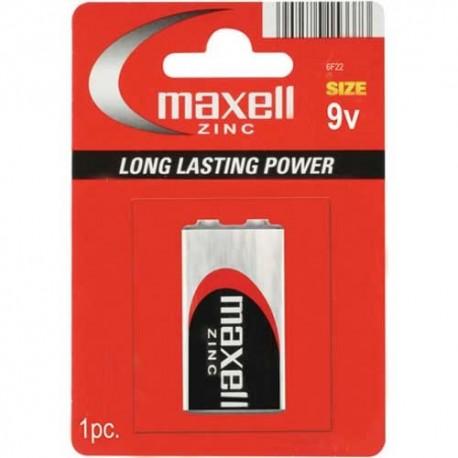 PILHA 9V CX/1 MAXELL 165123