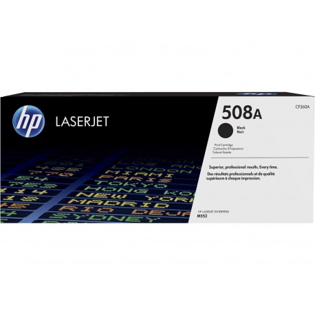 TO HP CF360A * BLACK M550 SERIES 6K PAG