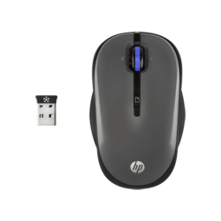 MOUSE HP WIFI X3300 GRAY