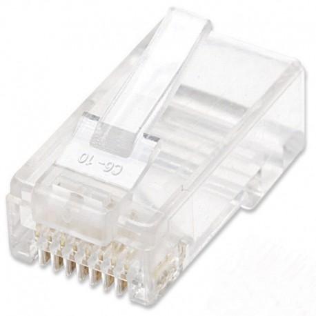CONECTORES CAT6 RJ45 100UN