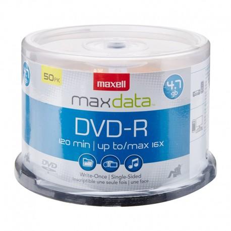 CD DVD -R PK/50 + 5UN MAXELL 911166