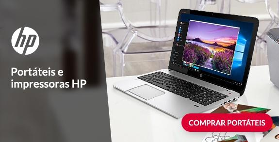 Portáteis e impressoras HP