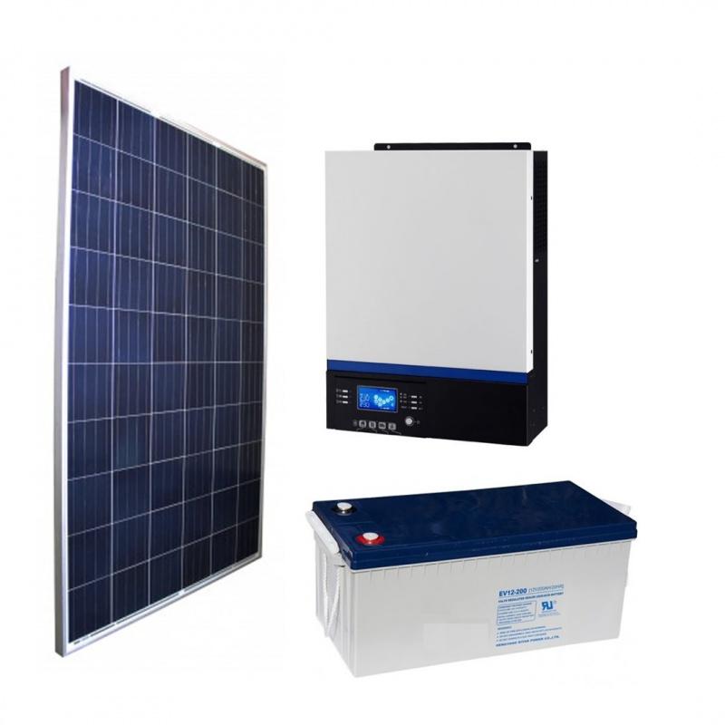 Kit Energia Solar 1500VA